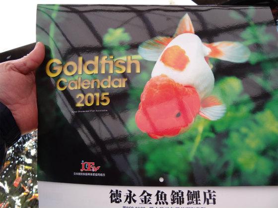 金魚のカレンダー